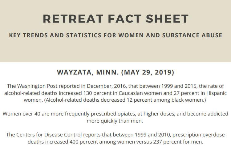The Retreat: Fact Sheet